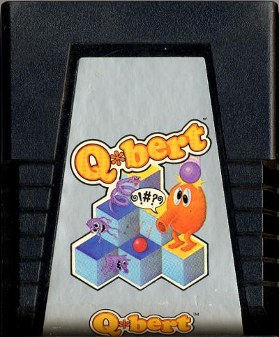 Q*bert - Cartridge Scan
