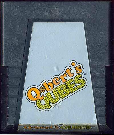 Q*bert's Qubes - Cartridge Scan