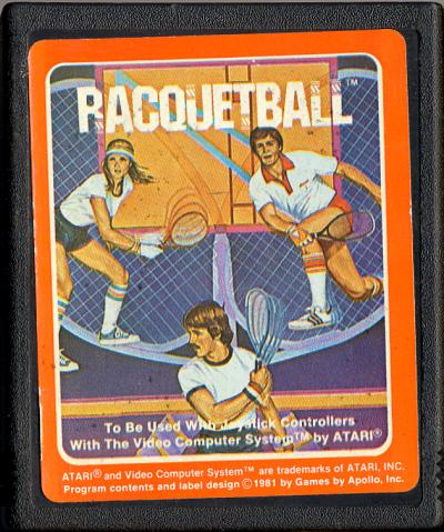 Racquetball - Cartridge Scan