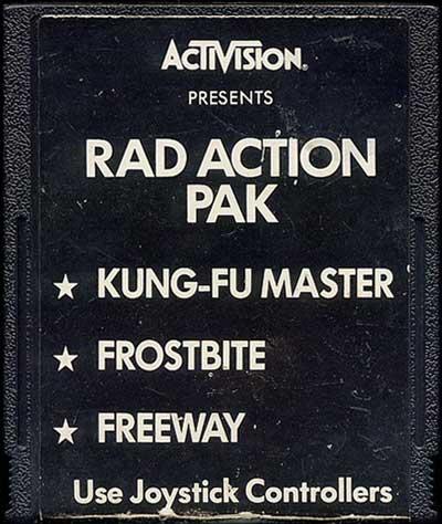 Rad Action Pak - Cartridge Scan