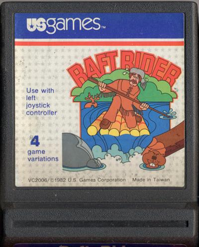 Raft Rider - Cartridge Scan