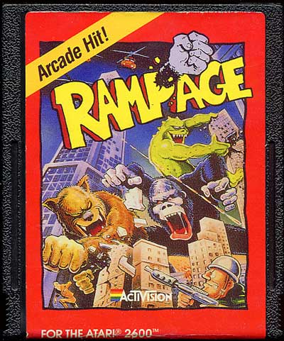 Rampage - Cartridge Scan