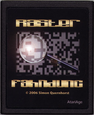 Raster Fahndung - Cartridge Scan