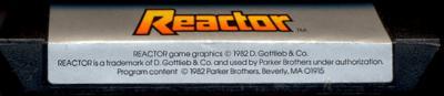 Reactor - Cartridge Scan