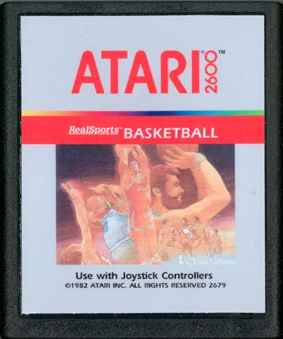 RealSports Basketball - Cartridge Scan