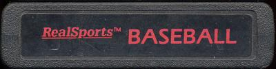 RealSports Baseball - Cartridge Scan