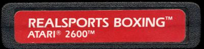 RealSports Boxing - Cartridge Scan