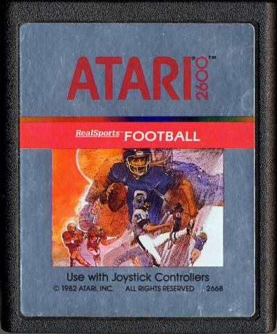 RealSports Football - Cartridge Scan