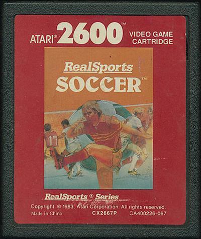 RealSports Soccer - Cartridge Scan