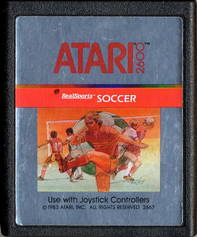 RealSports Soccer - Cartridge Scan