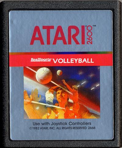 RealSports Volleyball - Cartridge Scan