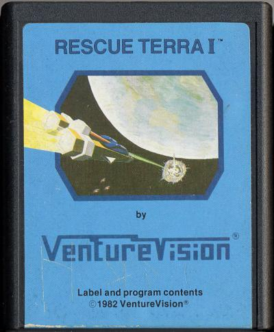 Rescue Terra I - Cartridge Scan