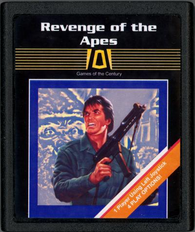 Revenge of the Apes - Cartridge Scan