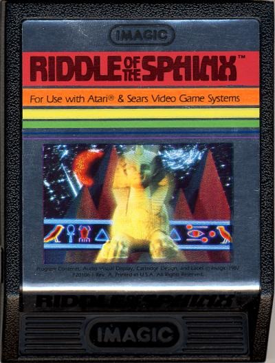 Riddle of the Sphinx - Cartridge Scan