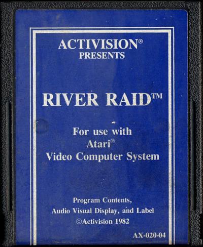 River Raid - Cartridge Scan