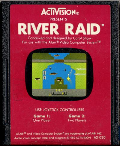 River Raid - Cartridge Scan