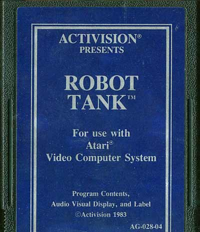 Robot Tank - Cartridge Scan