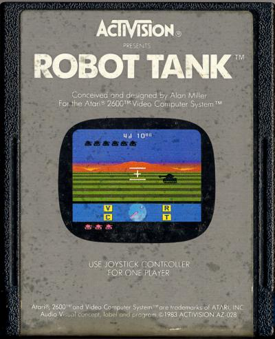Robot Tank - Cartridge Scan