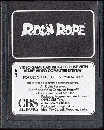 Roc 'N Rope - Cartridge Scan