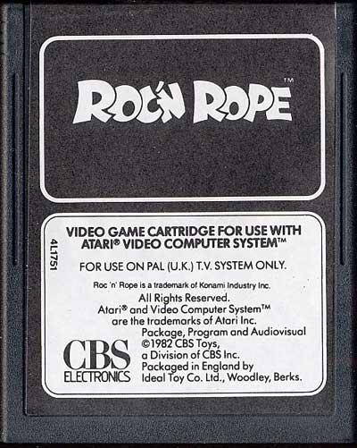 Roc 'N Rope - Cartridge Scan