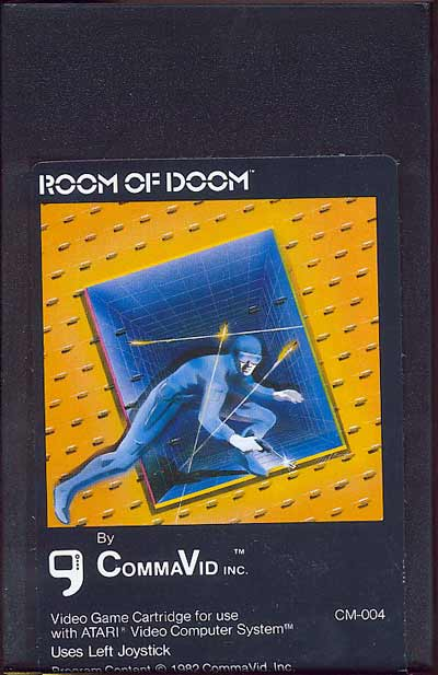 Room of Doom - Cartridge Scan