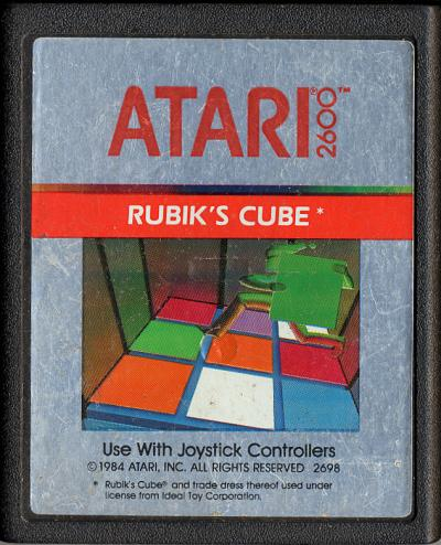 Rubik's Cube - Cartridge Scan