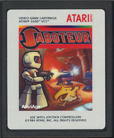 Saboteur - Cartridge Scan
