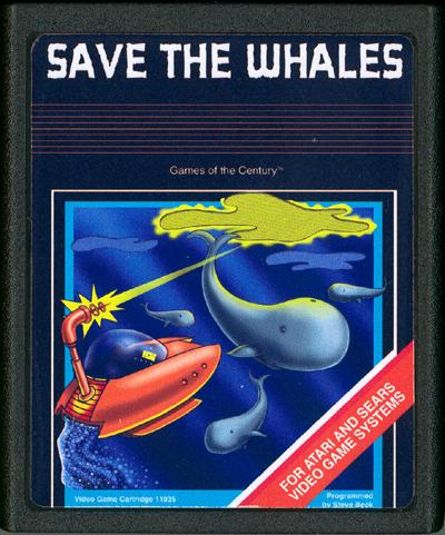 Save the Whales - Cartridge Scan