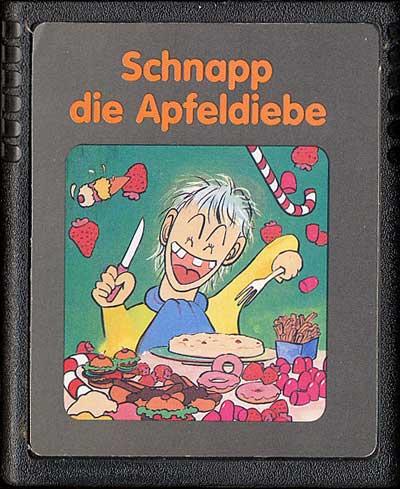 Schnapp Die Apfeldiebe - Cartridge Scan