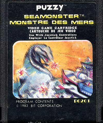Sea Monster - Cartridge Scan