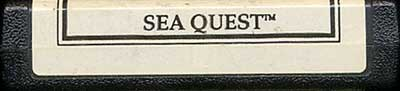 Sea Quest - Cartridge Scan