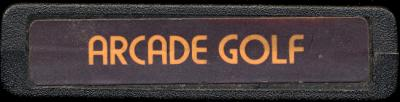 Arcade Golf - Cartridge Scan