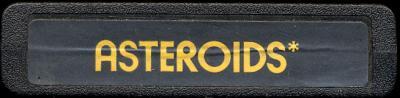 Asteroids - Cartridge Scan