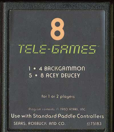 Backgammon - Cartridge Scan