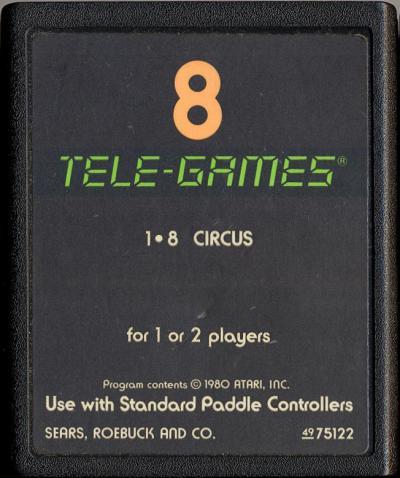 Circus - Cartridge Scan
