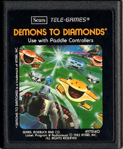 Demons to Diamonds - Cartridge Scan