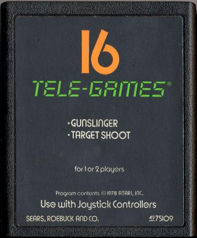 Gunslinger - Cartridge Scan