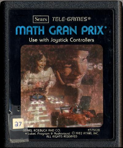 Math Gran Prix - Cartridge Scan
