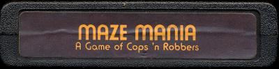 Maze Mania - Cartridge Scan