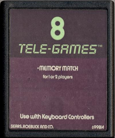 Memory Match - Cartridge Scan
