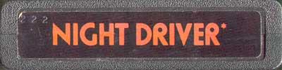 Night Driver - Cartridge Scan