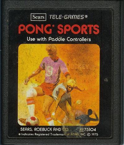 Pong Sports - Cartridge Scan