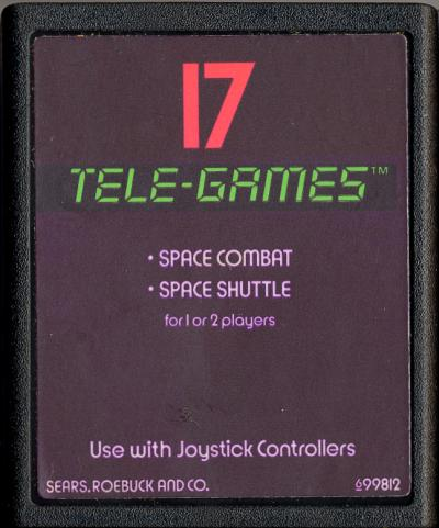 Space Combat - Cartridge Scan