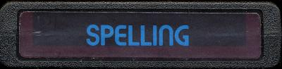 Spelling - Cartridge Scan