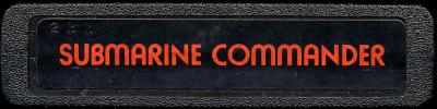 Submarine Commander - Cartridge Scan