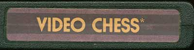 Video Chess - Cartridge Scan