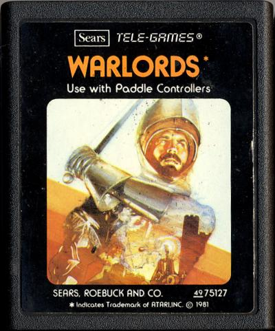 Warlords - Cartridge Scan