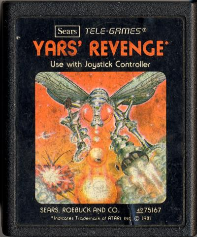 Yars' Revenge - Cartridge Scan