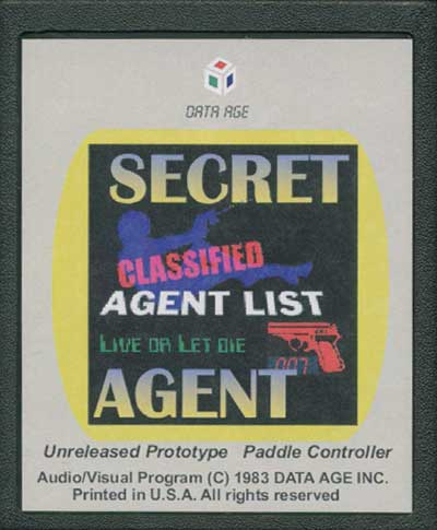 Secret Agent - Cartridge Scan
