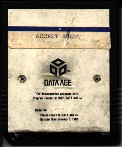 Secret Agent - Cartridge Scan